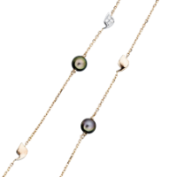 Without a clasp, LONG NECKLACE display their bohemian spirit