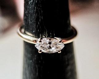 bague karine diamant marquise